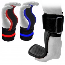 ROAR Weight Lifting Hand Bar Grips Straps Wrist Support Gym Pull Up Wraps Gloves