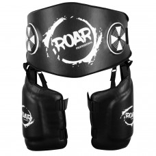 ROAR MMA Kickboxing Thigh Pad Mixed Martial Art Belly Protector UFC Training