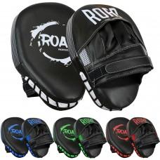 ROAR New Focus Mitts Pads Curved Muay Thai Kick Shields Pad