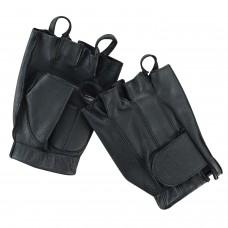 ROAR Summer Fingerless Gel Padded Palm Men's Motorcycle Gloves