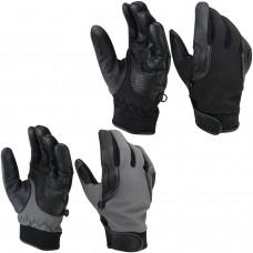 ROAR Men's Leather/Textile Lightweight Motorcycle Gloves Maximum Air Flow Mesh