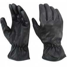 ROAR Unlined Motorcycle Extreme Driving Gloves Water Resistant Leather Bike