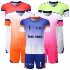 ROAR 12 Soccer Sports Kits Men's Team Uniform Set Shirts & Shorts Adult Sizes