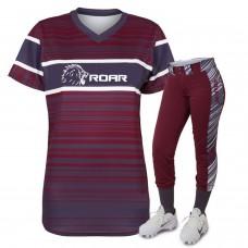 ROAR 15 Team Uniform Set Pant & Shirts Softball Gear Wholesale clothes Club Wear