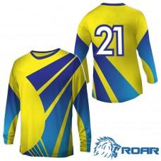 ROAR 15 Set Soccer Uniform Suit Kit Football Sport T-Shirts Men's Adult Youth