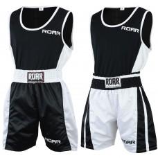 ROAR Boxing Shorts MMA Gym Vest Sleeveless Top