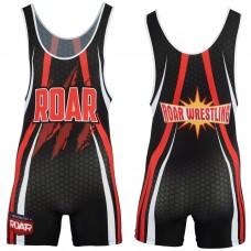 ROAR New Wrestling Singlet Stretch BodySuit Sports Wear